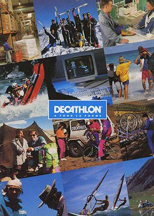 Affiche : DECATHLON, A FOND LA FORME