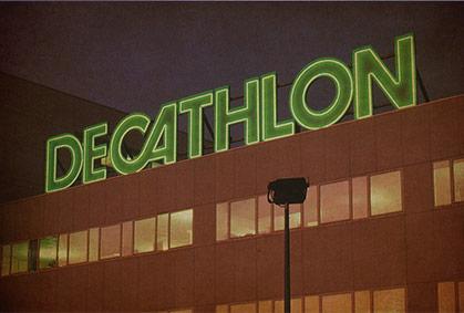 Enseigne DECATHLON