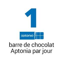 1 barre de chocolat Aptonia par jour