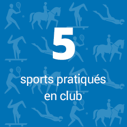 5 sports pratiqués en club