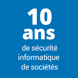 10 ans de sécurité informatique de sociétés