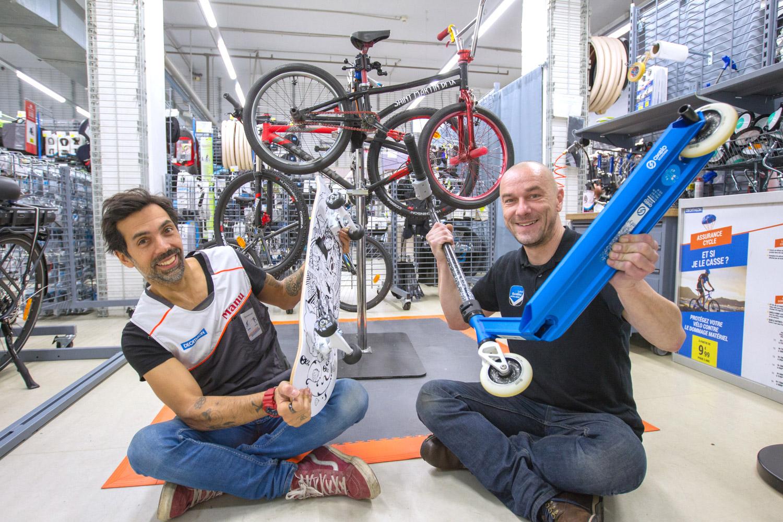 Emmanuel Massabova : Teddy, mon coéquipier Decat', était rider en BMX