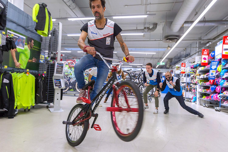 Emmanuel Massabova : Mon client revient avec le vélo que j'avais créé moi-même !