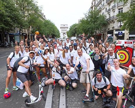 Decathlon, partenaire de Paris pour les Journées Olympiques !